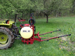 Features: Orchard Spray Gun, High Pressure & Folding Booms