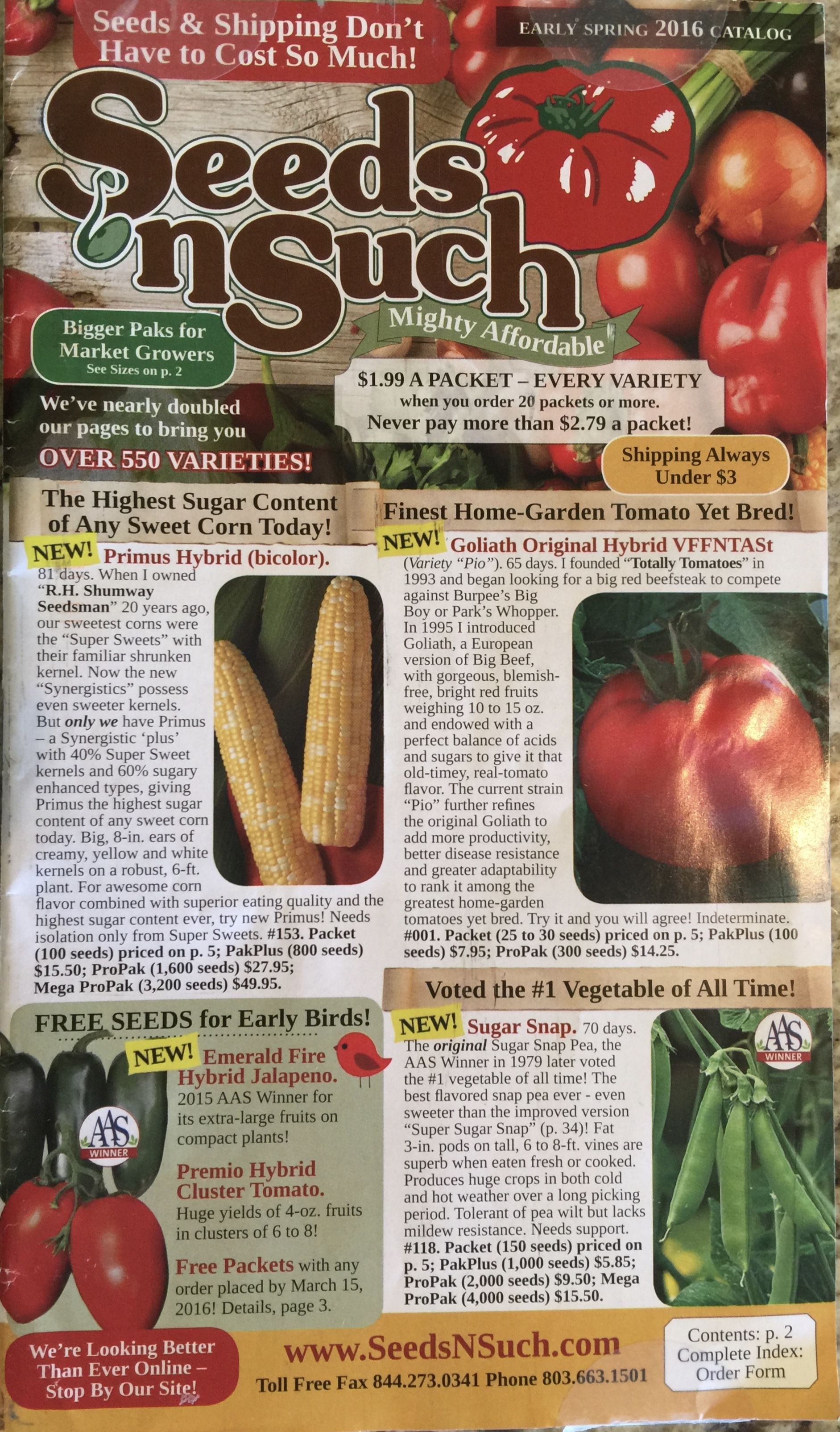 Johnny's is committed to helping growers and gardeners succeed with superior seeds, tools and service. Quality vegetable, herb and flower seeds including a large selection of certified organic seed.