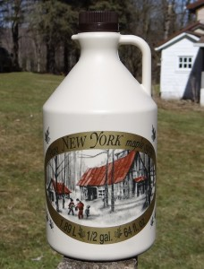 New York State Maple Syrup!