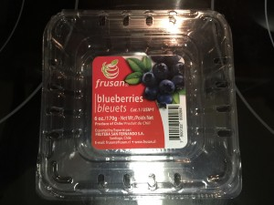 Blueberries are available almost year around