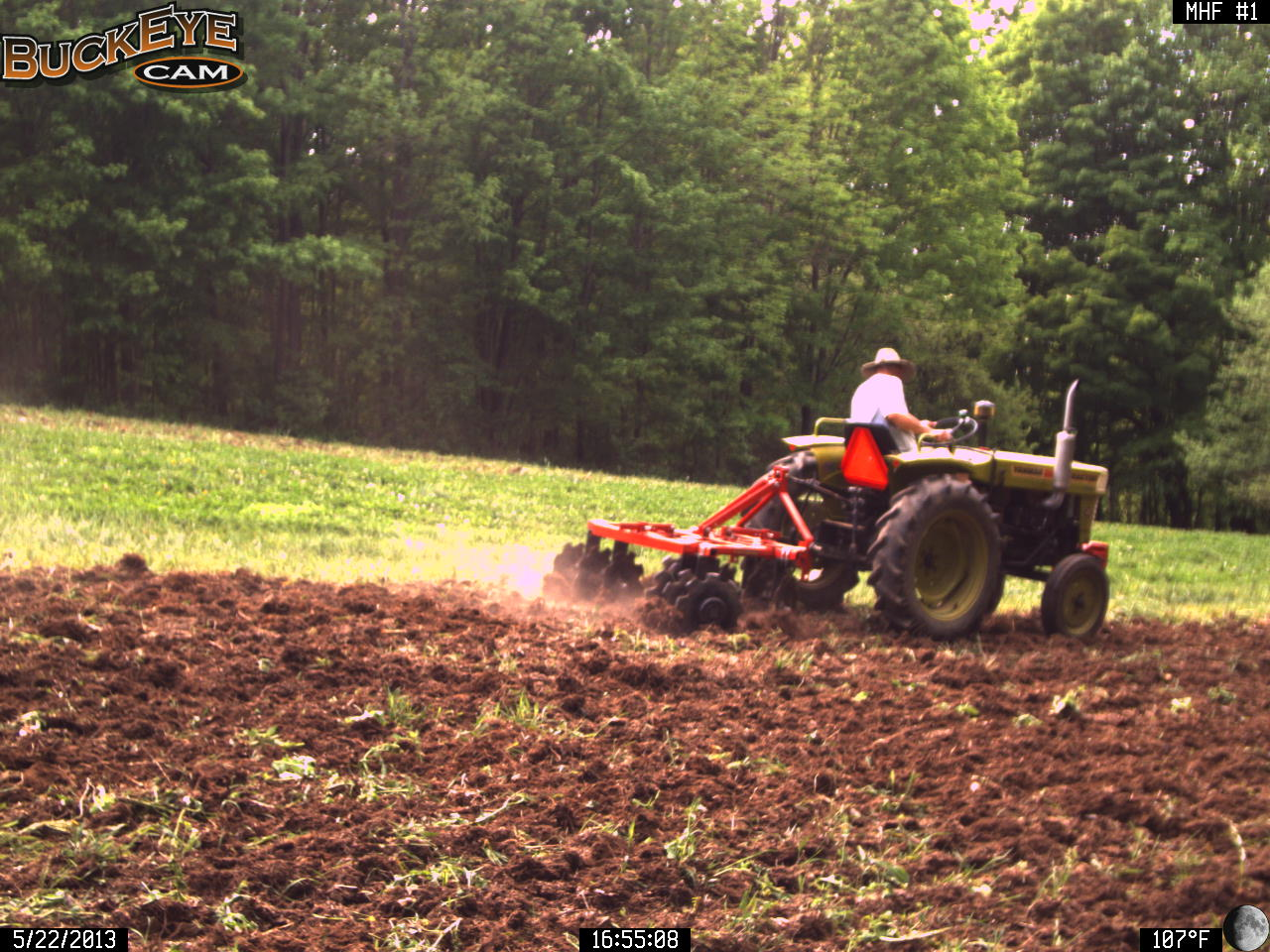 Using a Disc for Soil Preparation