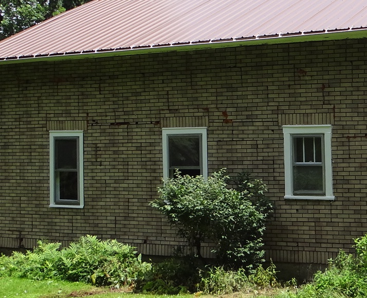 Repainted Windows and Sash on an Old House