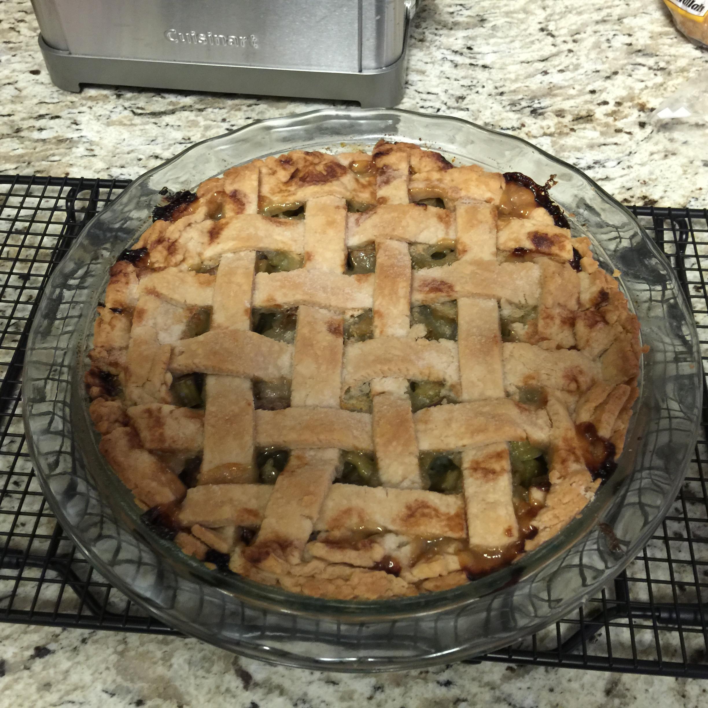 Rhubarb Pie - So Good!!
