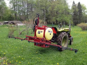 Hardi BNL 50 Estate Sprayer