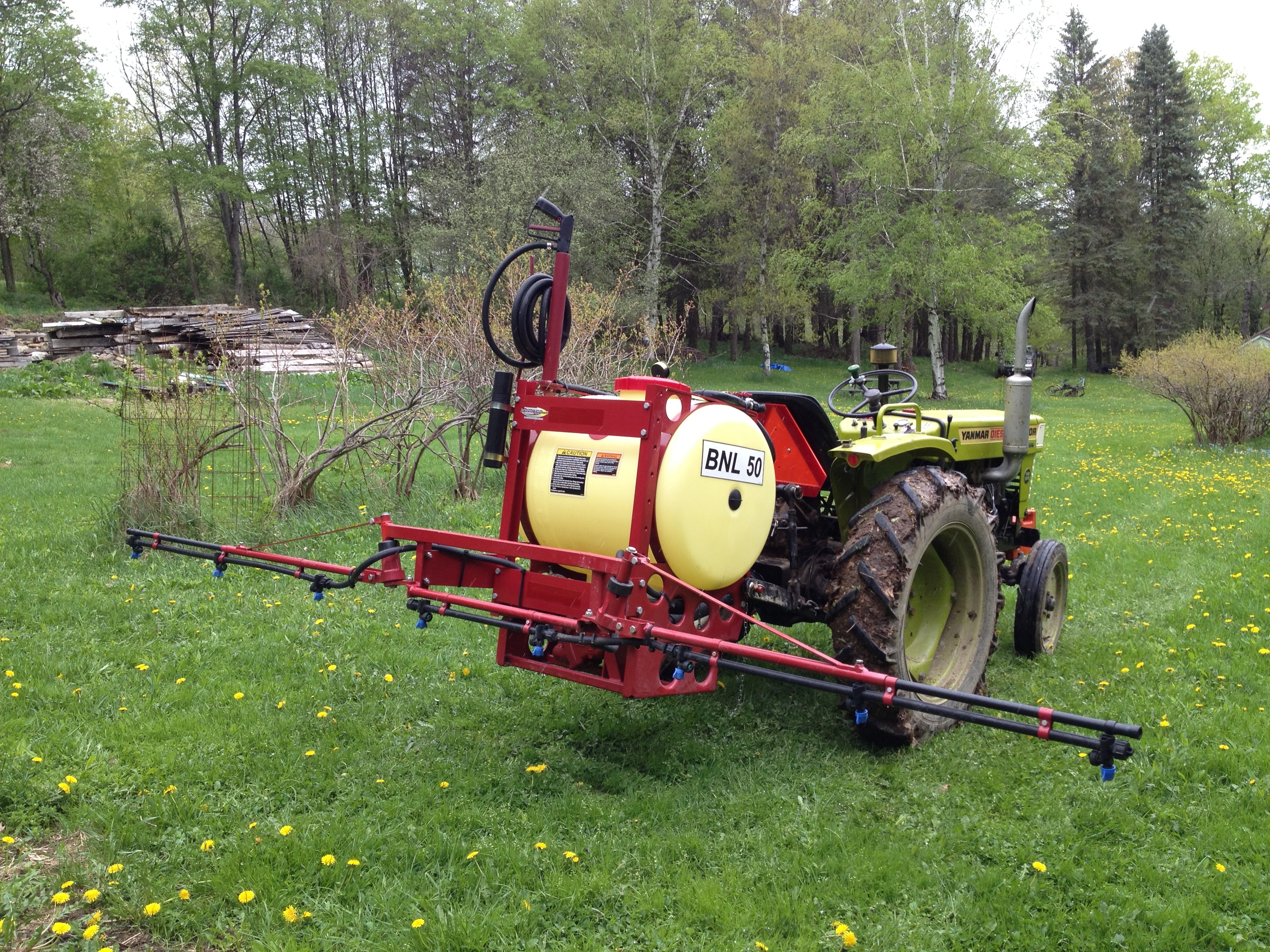 choosing a sprayer for your small farm needs mink hollow farm rh minkhollowfarm com Hardi ES30 Sprayer Ag Sprayer