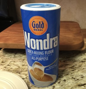 One of our favorite products is Wondra®