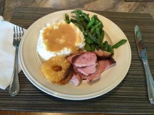 Ham dinner!