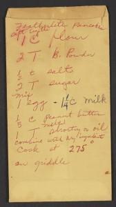 Rosa Park's original pancake recipe