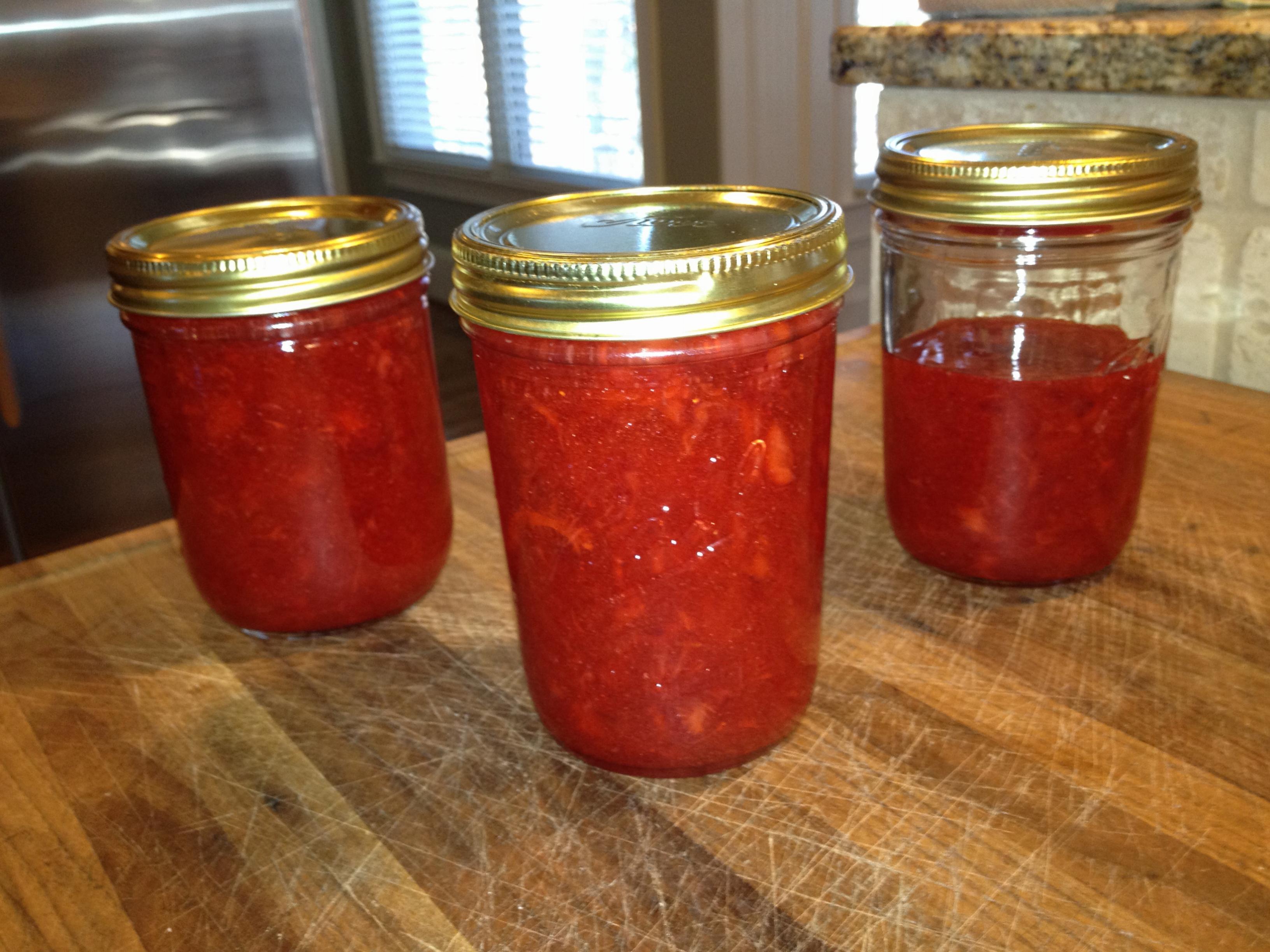 Seal the jar lids!