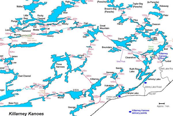 Canoeing Killarney