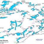 Canoeing Killarney Provincial Park circa 1969