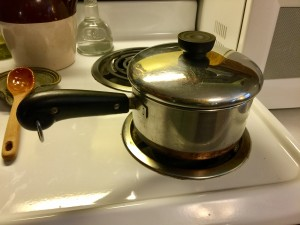 The good old Revere Ware sauce pans!
